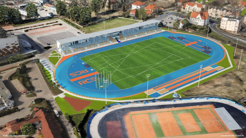 Nowy stadion lekkoatletyczny iHala Lodowa powstaną wLubinie